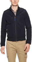 Scotch & Soda Short Quilted Bomber Jacket