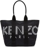 Kenzo Black Logo Sport Tote