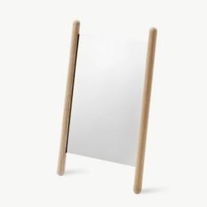 Skagerak - Oak Georg Mirror - 35 x 55 cms - Wood/Glass