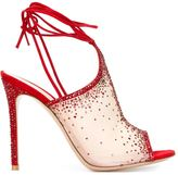 Gianvito Rossi Swarovski embellished sandals