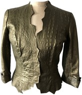 Thierry Mugler Metallic Leather Leather jackets