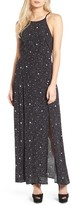 Leith Women's Cutout Back Maxi Dress