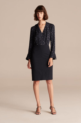 Rebecca Taylor Tailored Dashing Dot Dress