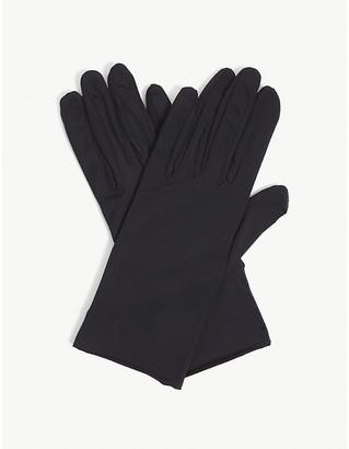 Agnelle Ladies Black Hygie Barrier Nylon-Blend Gloves
