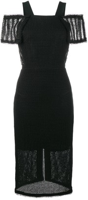 Roland Mouret Sinclair off-shoulder dress