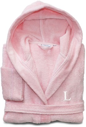 Linum Home Textiles Turkish Cotton Kids Personalized Terry Hooded Bathrobe