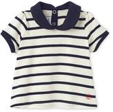 Petit Bateau Baby girl sailor-striped blouse
