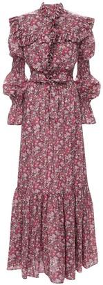 Philosophy di Lorenzo Serafini Liberty Cotton Muslin Long Dress
