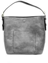 Joy Accessories Grey Hobo Handbag