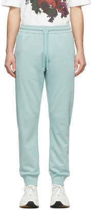 Dries Van Noten Green French Terry Lounge Pants