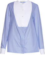 Stella McCartney Etta contrast-panel shirt