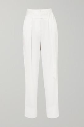 IRO Desiring Crepe Tapered Pants - White