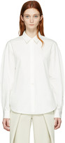 Lemaire White Large Sleeve Shirt