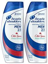 Head & Shoulders Head and Shoulders Old Spice Pure Sport 2 in 1 Pure Sport Anti-Dandruff Shampoo and Conditioner for Men, 23.7 Ounce 2 Count