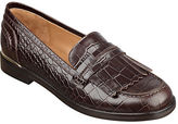 Marc Fisher Roryer Leather Fringe-Accented Loafers