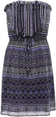Tart Collections Strapless Chiffon Mini Dress