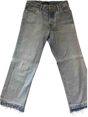 Levi's Blue Cotton Jeans for Women