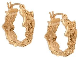 LOVENESS LEE Rebuita hoop earrings