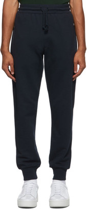 Dries Van Noten Navy Zip Pockets Lounge Pants