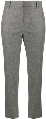 Eleventy Stud-Detailing Tailored Trousers