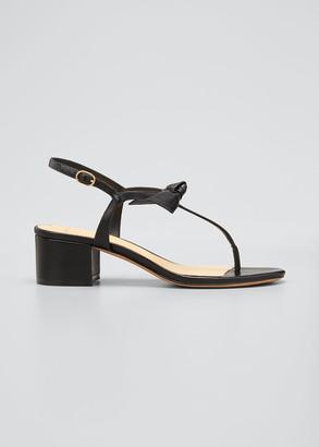 Alexandre Birman Clarita T-Strap Thong Sandals