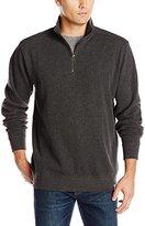 Carhartt Men's Big & Tall Knit Quarter-Zip Relaxed-Fit Pullover