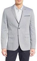 Ted Baker 'Popping' Modern Trim Fit Herringbone Sport Coat