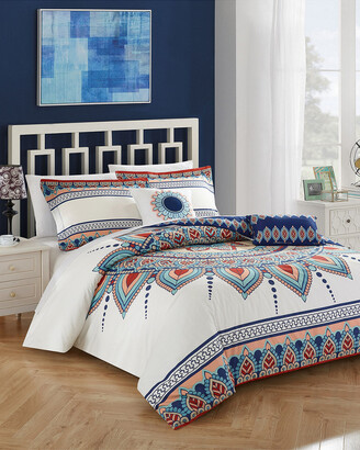 Chic Home 4Pc Popo Boho Reversible Comforter Set