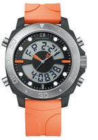 HUGO BOSS Men's Orange Stainless Steel and Plastic Watch