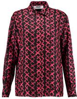 MSGM Printed Silk Shirt
