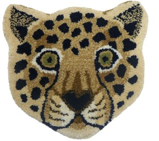 Doing Goods Wool Loony Leopard Rug