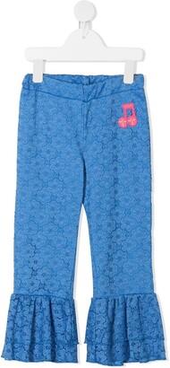 Mini Rodini Lace Frill Pants