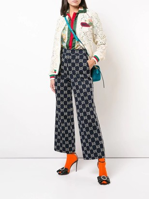 Gucci Lace Bomber Jacket