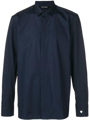 Neil Barrett Heart Sleeve Shirt