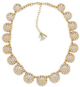 lonna & lilly Cubic Zirconia & Cotton Tassel Collar Necklace