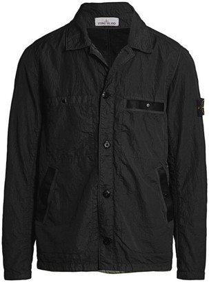 Stone Island Water-Resistant Collared Jacket