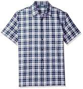 Perry Ellis Men's Digital Jaquard Shirt
