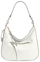 Marc Jacobs Recruit Leather Hobo - Ivory