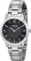 Pulsar Women's PM2145 Analog Display Analog Quartz Silver Watch