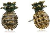 """Marc Jacobs Resort 2016"""" -Pineapple Stud Earrings"""