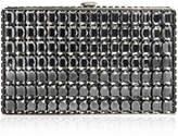 Judith Leiber Couture Sideways Cut Crystal Clutch Bag
