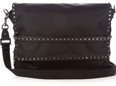 Valentino Rockstud nylon messenger bag