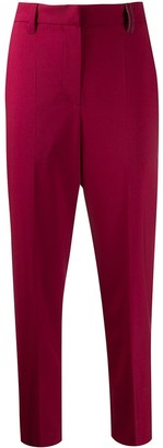 Brunello Cucinelli tapered ankle trousers