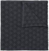 Giorgio Armani monogram scarf - men - Silk/Cashmere/Wool - One Size