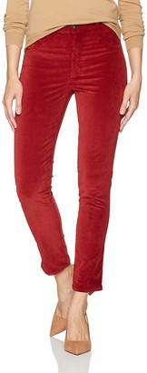 James Jeans Women's High Rise Skinny Ankle Velvet Pant