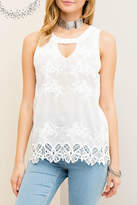 Entro Floral Embossed Top