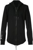 11 By Boris Bidjan Saberi hooded logo jacket