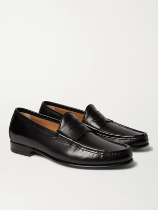 Yuketen '70s Suede Penny Loafers