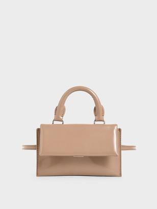 Charles & Keith Patent Belt Bag