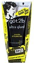 Got2b Got 2B Glued Ultra Styling Gel 6oz (3 Pack)